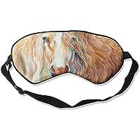 Sleep Eye Mask Horse Abstract Lightweight Soft Blindfold Adjustable Head Strap Eyeshade Travel Eyepatch E4 preisvergleich bei billige-tabletten.eu
