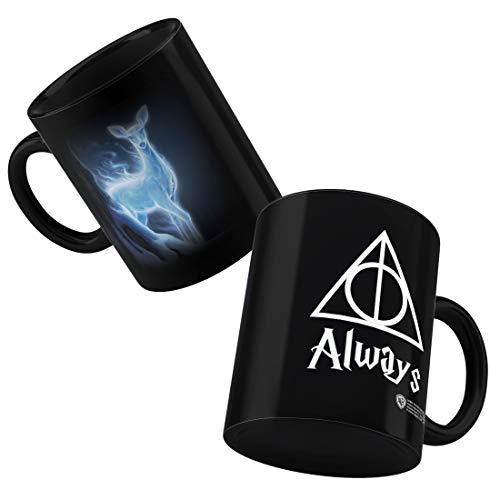 Happy GiftMart Ceramic Harry Potter Always Patronus Stag Coffee Mug (300ml)