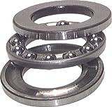 Axial Rillenkugellager, DIN 711, 12x26x9,0mm, ebene Auflage Ausführung:ebene Auflage Wellen Ø d:12