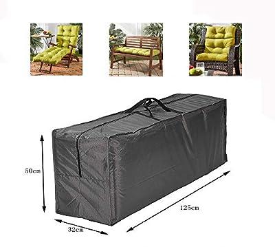 Hentex Cover Schutzhülle für Auflagen - Wasserabweisende Gartenpolster Aufbewahrung Tasche mit Tragegriff von Hentex Cover - Gartenmöbel von Du und Dein Garten