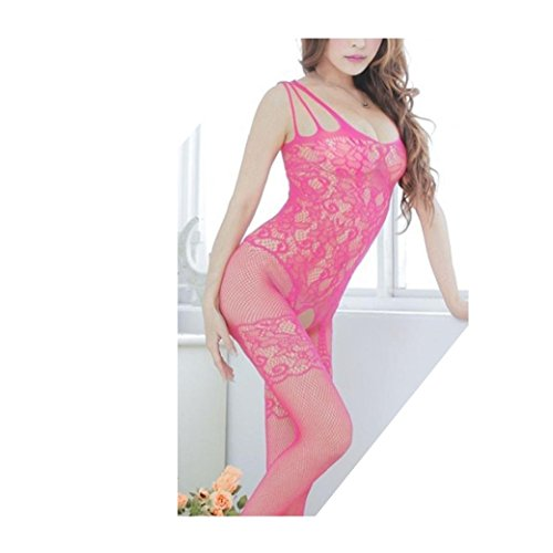 Netz Anzug, Damen, rosa Spitze, durchsichtige Strumpfhose, Gr. S/M 34,36,38 Ganzkörper, langarm, Netz Strumpfhose, sexy, Fetisch Catsuit pink