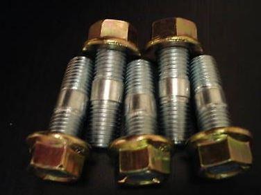 5 X Turbo d'échappement Écrous et goujons - Filetage M10-38 mm Longueur