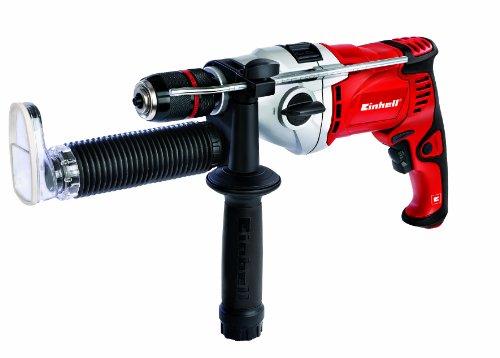 Einhell RT-ID 110 Schlagbohrmaschine, 1.100 W, 2 Gänge, max. Schlagzahl 46.500 min-1, Abnehmbare Staubabsaugvorrichtung, Bohrerdepot im Handgriff - 2