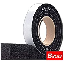 10//3-7mm Kompriband B300 Grau 1 Rolle Gr/ö/ße 8m Fugendichtband Dichtungsband Dichtband Quellband