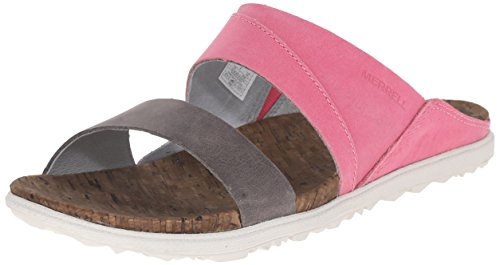 Merrell Damen Around Town Slide Offene Sandalen Rose