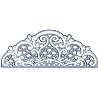 Marianne Design Creatables Troqueles con diseño Vintage Decoración, Metal, Azul, 5 x 12,7 x 0,4 cm