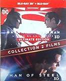 BATMAN VS SUPERMAN / MAN OF STEEL - Coffret 2 Films DC COMICS