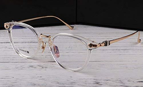 Die Brille ist super das leicht Reine Titan Revive Old cBrillen Männer und Frauen Stil Brillengestell kleines Gesicht