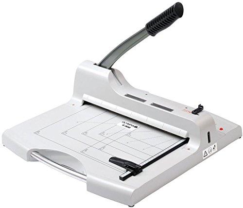 Olympia G 3650 Profi Stapelschneider Papier (DIN A4, 50 Blatt, Laserschnittlicht, Gewerbliche Schneidemaschine aus Metall für Büro, Papierschneidemaschine mit Schnittschutz)