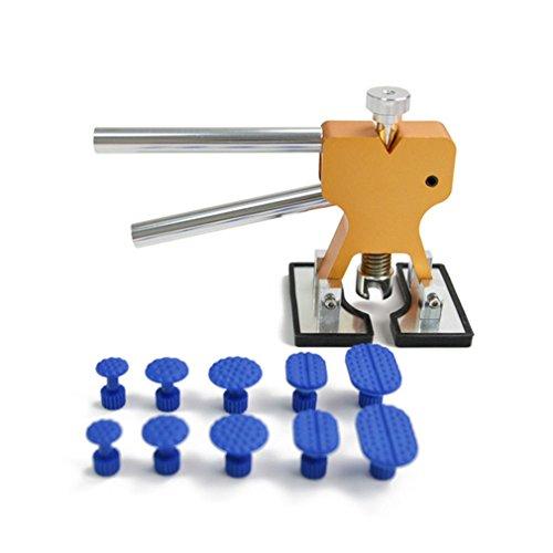 Preisvergleich Produktbild yinew Auto dent Abzieher Professionelle Dent Reparatur Werkzeug 10 Sets mit Dent Reparatur Lifter und Dent Entfernung Kit