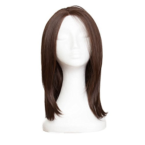 Rapunzel of Sweden Lace Front Perücke - Long Bob #Coffee Brown 40 cm
