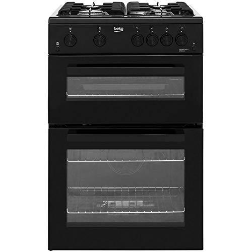 41N2CjoNlML. SS500  - Beko KTG611K Freestanding Gas A+ Rated Cooker - Black
