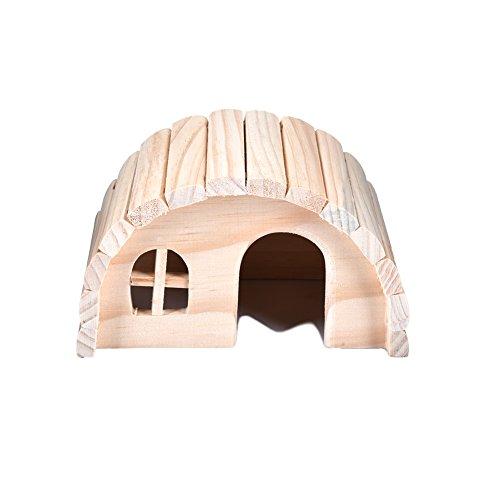 Yunt casetta per roditori legno criceto casa (s/m)