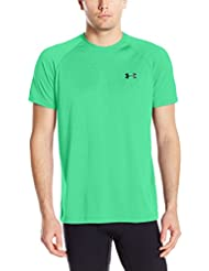 Under Armour Ua Tech Ss Tee Herren Fitness - T-shirts & Tanks, Grün (Vapor Green), Gr. L