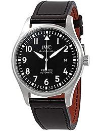 a53970e05328 IWC Pilot s Mark XVIII IW327009 Reloj automático con Esfera Negra para  Hombre