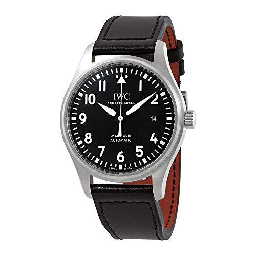IWC Pilot's Mark XVIII IW327009 Reloj automático con Esfera Negra para Hombre