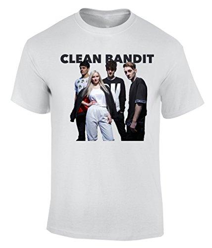 Clean Bandit T-Shirt Herren Weiß