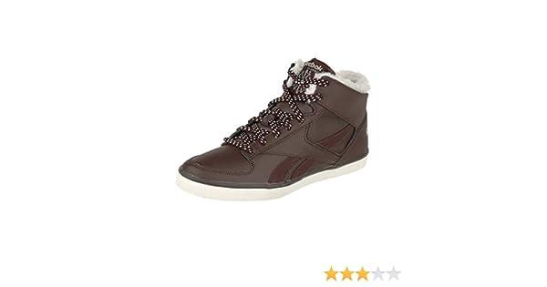 Reebok HAZELBORO M Braun Classic High Top Damen High Sneaker Schuhe Halbschuhe warm gefüttert