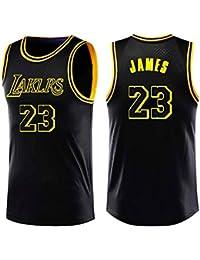Lebron James #23 Camiseta de Baloncesto para Hombres - NBA Lakers, Nuevo Tela Bordada