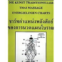 """Energieliniencharts zum Buch """"Kunst Traditioneller Thai-Massage Band 1 und 2"""" (Medical Edition)"""