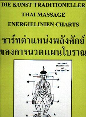 """Energieliniencharts zum Buch \""""Kunst Traditioneller Thai-Massage Band 1 und 2\"""" (Medical Edition)"""
