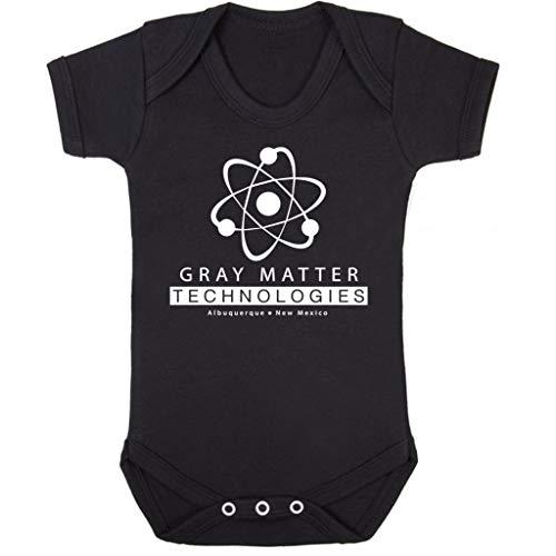 Cloud City 7 Gray Matter Technologies Logo Breaking Bad Baby Grow Short Sleeve