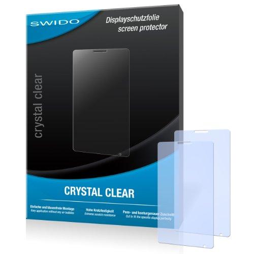 SWIDO Bildschirmschutz für Sony Xperia E1 [4 Stück] Kristall-Klar, Hoher Härtegrad, Schutz vor Öl, Staub & Kratzer/Schutzfolie, Bildschirmschutzfolie, Panzerglas Folie
