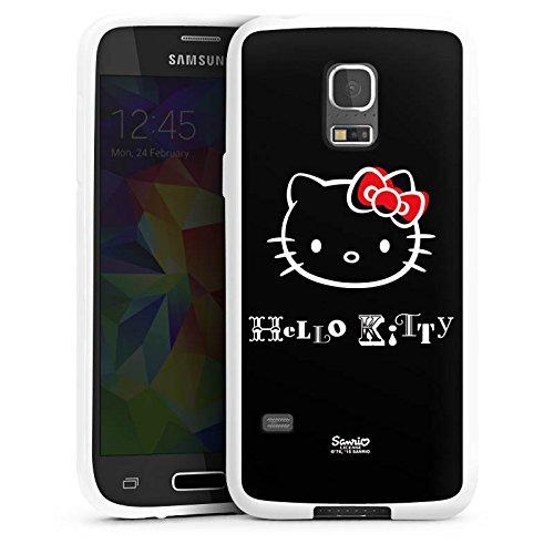 DeinDesign Samsung Galaxy S5 mini Silikon Hülle Case Schutzhülle Hello Kitty Merchandise Fanartikel Love