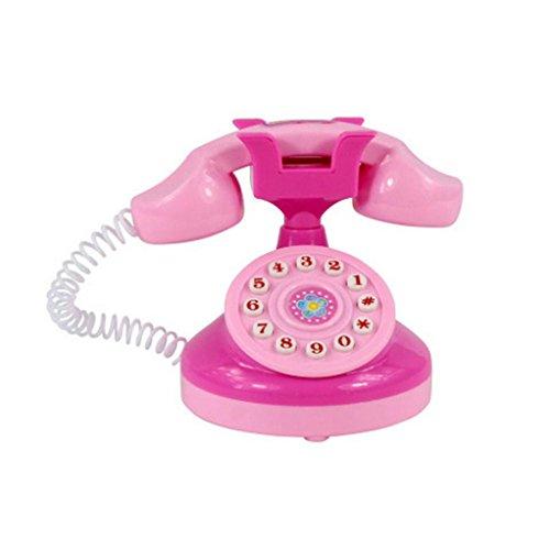 Bescita Baby Entwicklungs Pädagogisches Telefon Pretend Spiel Haushaltsgeräte Küche Simulation Spielzeug Kind Geschenk (A2)