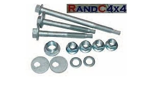 LAND ROVER DISCOVERY 3 /& 4 FRONT LOWER WISHBONE BOLT SUSPENSION KIT DA7205