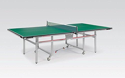 DONIC Waldner High School Tischtennisplatte, Silbermetallic-Grün, One Size