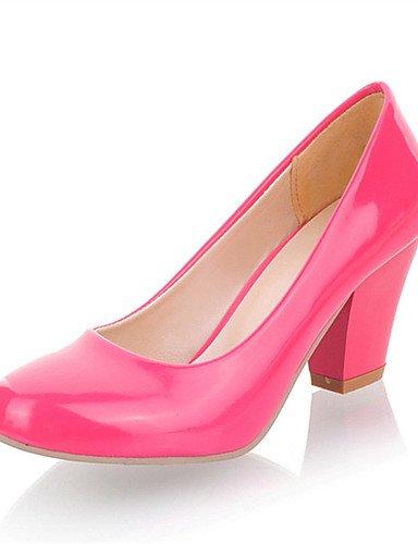 WSS 2016 Chaussures Femme-Mariage / Habillé / Décontracté / Soirée & Evénement-Noir / Bleu / Rose / Rouge / Blanc-Gros Talon-Talons-Talons- black-us5 / eu35 / uk3 / cn34