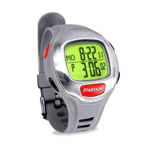 Pyle Reloj Deportivo para maratones con Time Target Setting, Alertas, Memoria cronografica....