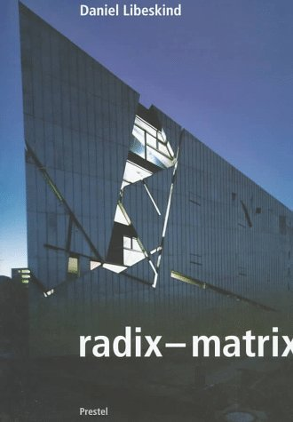 Matrix-trinken (Daniel Libeskind: Radix Matrix (Architecture))
