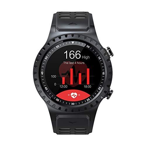 Bluetooth Smart Watch, CHsheTM Outdoors Gps Smartwatch Multifunktion Farb-Touchscreen Wasserdicht Sports Watch Intelligente Telefonuhr Mit Herzfrequenzmesser Und Kompass Für Android/Ios - Analog Gps