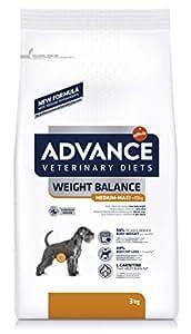 Advance Diets Weight Balance Croquettes pour Chien Poulet - 12 Kg