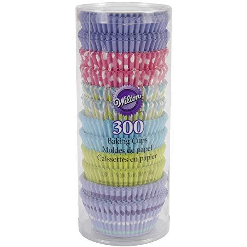 Wilton Standard Backen Cups-Pastel 300/Pkg, andere, Mehrfarbig -