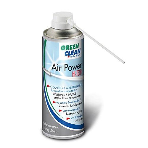 Preisvergleich Produktbild GREEN CLEAN G-2050 Air Power Hi Tech Airduster 400ml weiß
