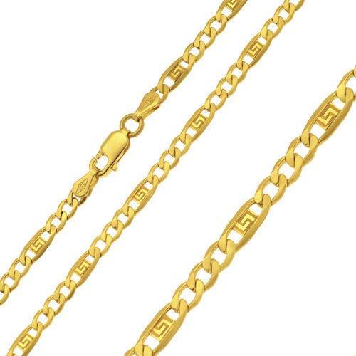 Goldkette Halskette Mäander Kette Collier 333 8KT