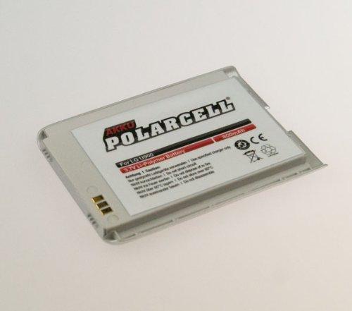 NFE² Edition Polarcell Lithium-Polymer Akku - 800mAh - für LG U900 silber