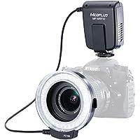 Mcoplus® MRF32 universale Macro Ring Flash/luce per Canon Nikon fotocamera reflex digitale con 32pcs LED Lampade