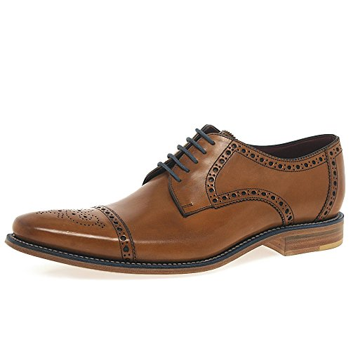 loake-foley-mens-formelle-lacets-chaussures-9-uk-43-eu-tan-bruni