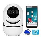 Auto Track 1080p IP Camera Surveillance Security Monitor WiFi Wireless Mini Smart Alarm Caméra Intérieure Ycc365 Plus UE Plug 3.6mm Mini-caméra 1080P