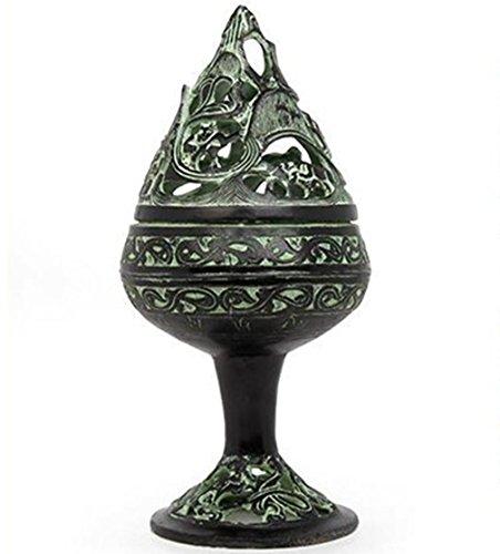 Regalos de cobre Incienso quemador artes hechos a mano de bronce antiguo adornos adornos de decoración decorativo hornillas de incienso , small