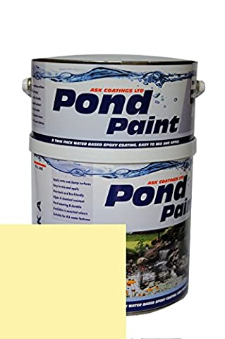 Water Based Epoxy Resin Pond Paint 2.5L (Stone)