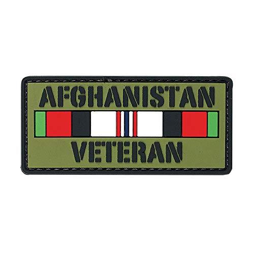 VOODOO TACTICAL 07-0812000000 Afghanistan Veteranrubber Patch