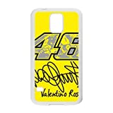 Custom Protective Phone Case for SamSung Galaxy S5, Valentino Rossi Brand 46?Classic?Wrangler Laster Technology Nice Quality Plastic and TPU Cover HPP3417