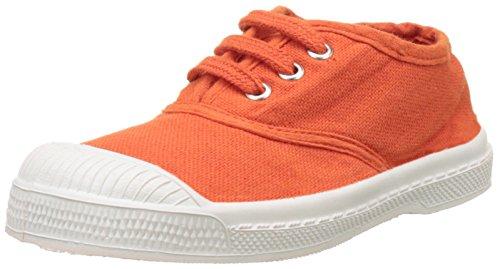 Bensimon - Tennis Lacet Enfant, Basse Unisex – Bambini Arancione