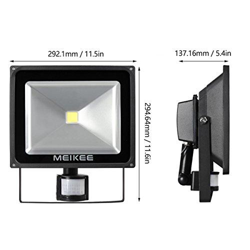 Meikee 50w motion sensor light super bright security light high meikee 50w motion sensor lightsuper bright led flood aloadofball Choice Image