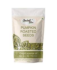 Ancient Bites Roasted Pumpkin Seeds | Lightly Salted (180 g)